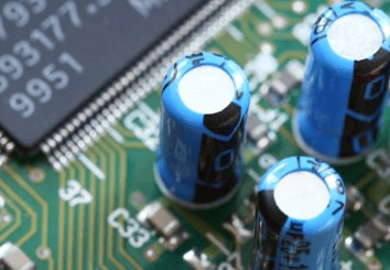 Electronic components (e.g. capacitors, flexible printed circuits)